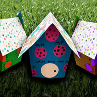 crafted bug houses