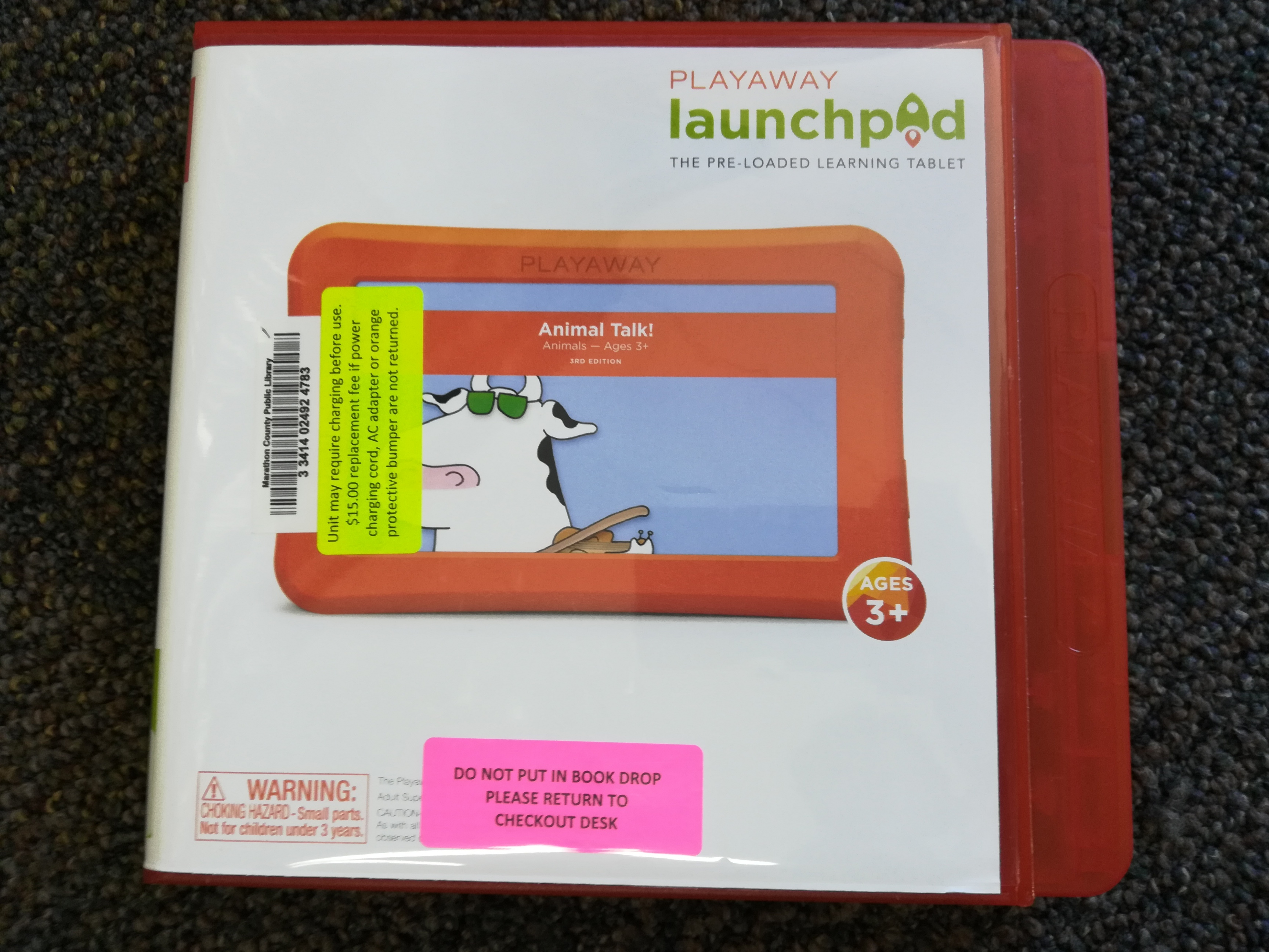 Animal Talk Playaway Launchpad