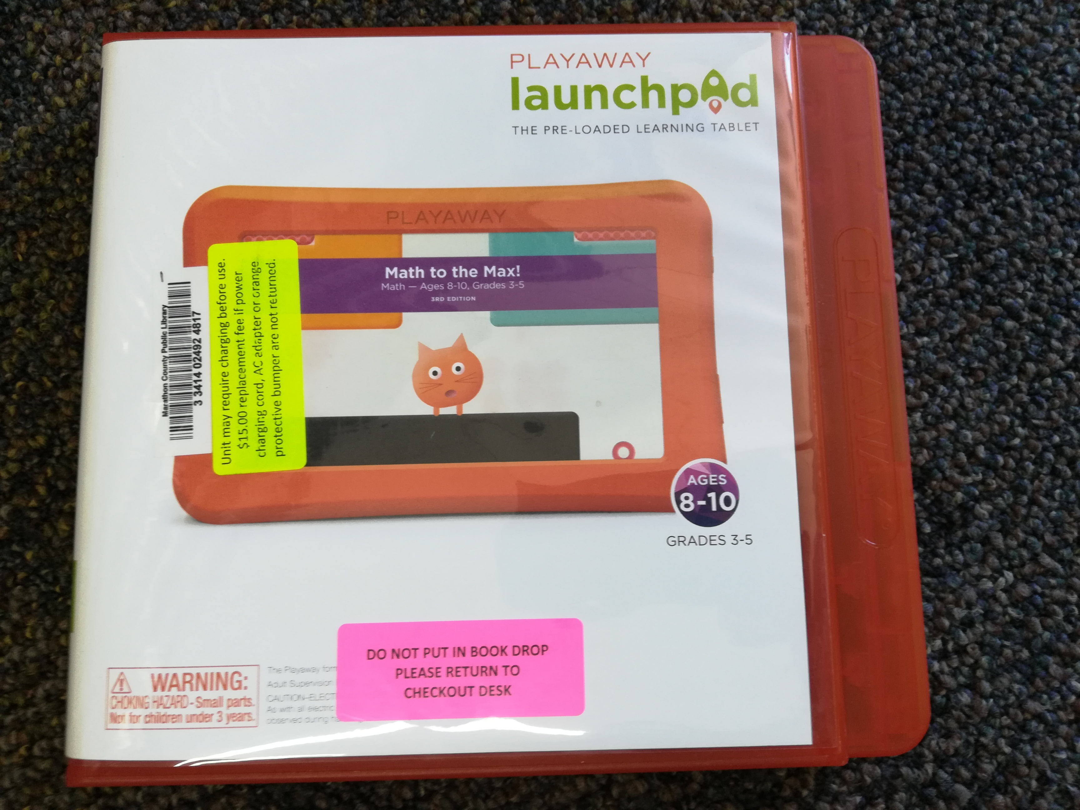 Math to the Max Playaway Launchpad