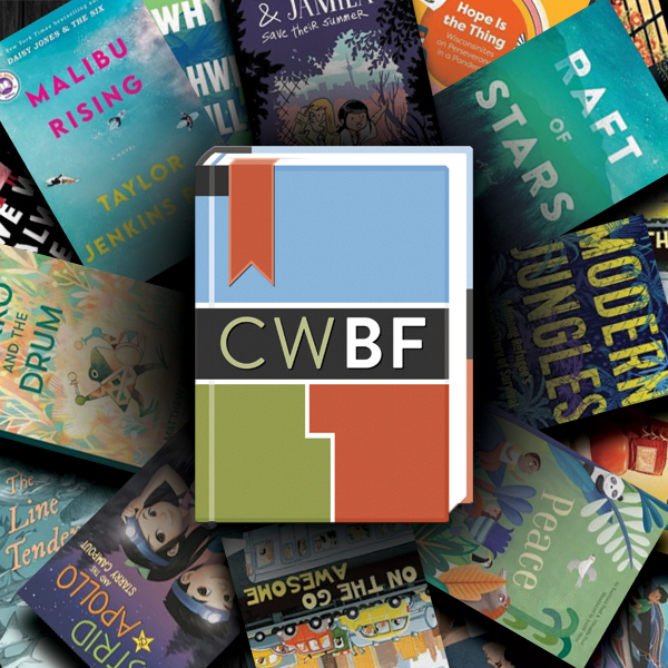 CWBF logo on 2021 book covers