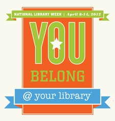 2012 National Library Week poster