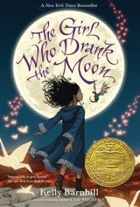 """The Girl Who Drank the Moon"" book cover"