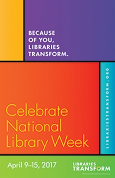 National Library Week 2017 logo