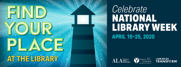 2020 National Library Week logo