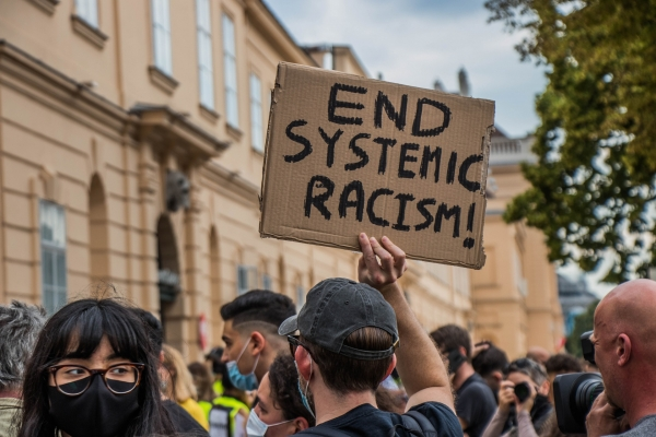 Protest against systemic racism