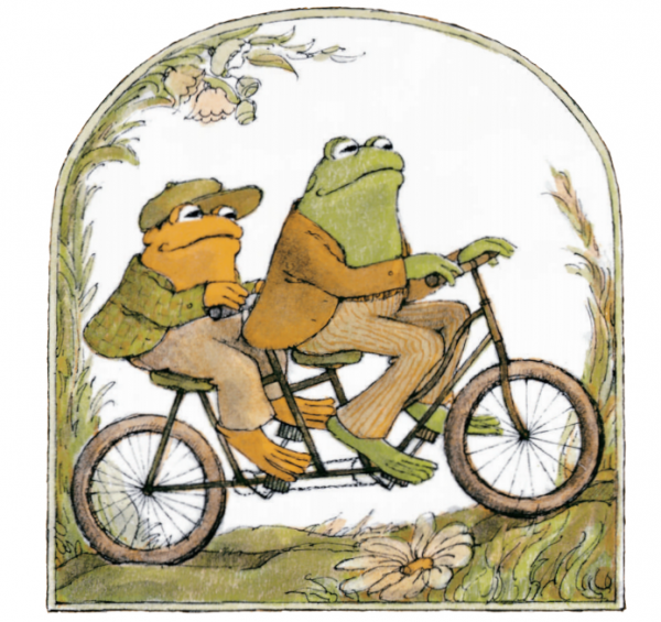 Frog and Toad image from 50th anniversary media kit