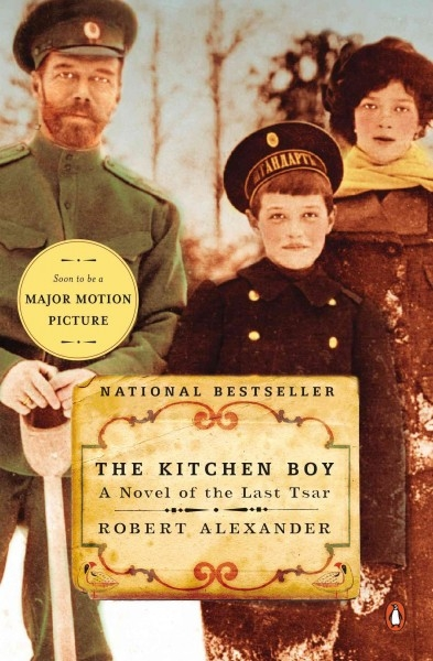 """The Kitchen Boy"" book cover"
