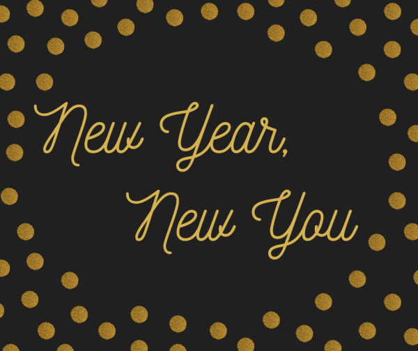 New Year, New You message