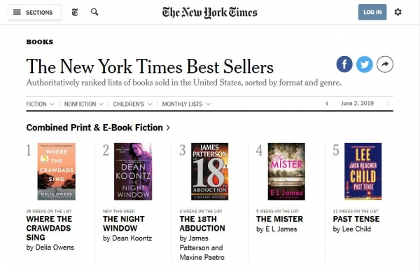 New York Times Best Sellers List 2019 Check out these New York Times Best Sellers! | Marathon County