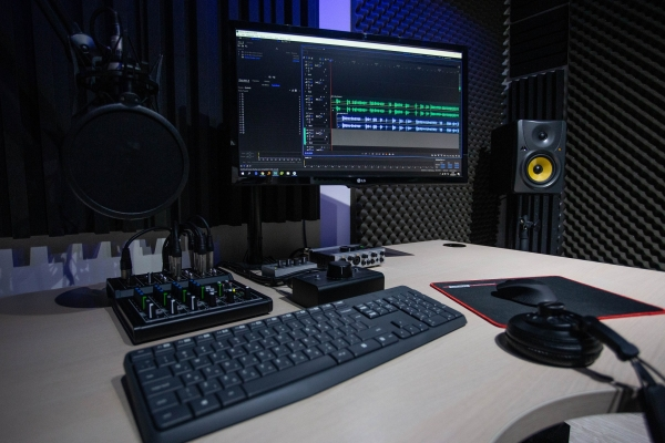 makerspace: recording studio