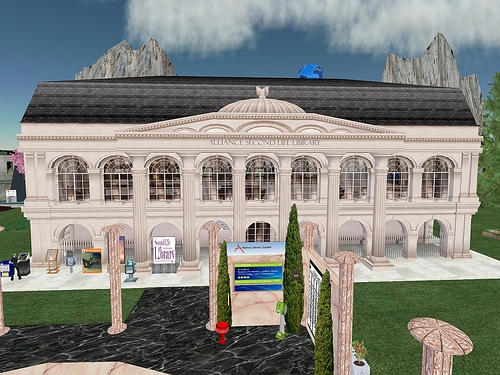 Second Life screen capture