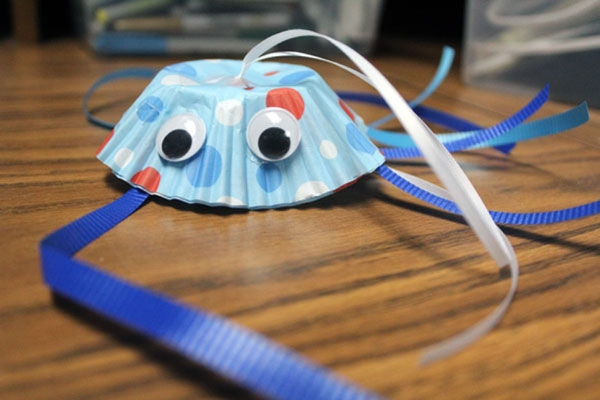 cute creature made from craft supplies