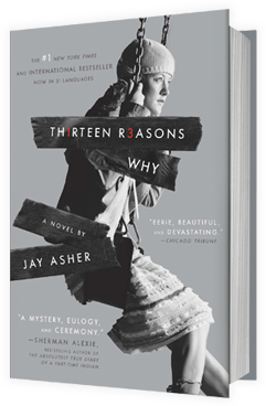 """13 Reasons Why"" book cover"