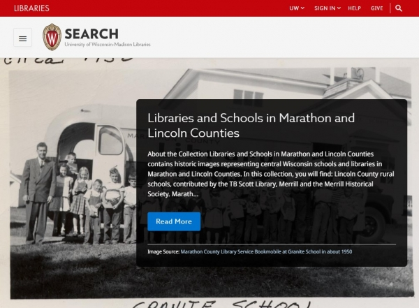 Libraries and Schools in Marathon and Lincoln Counties screenshot
