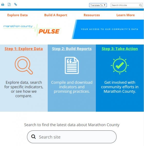 Marathon County Pulse screenshot