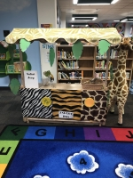 Jungle-themed Early Literacy Center