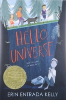 """Hello Universe"" book cover"