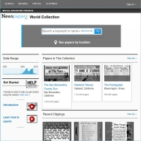Newspapers.com: Library Edition screenshot