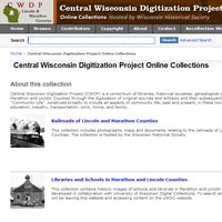 Central Wisconsin Digitization Project
