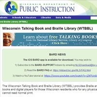 Wisconsin Talking Book & Braille Library